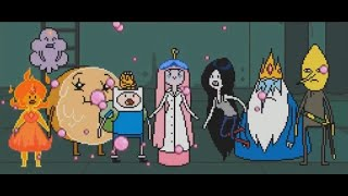 Adventure Time ALL Cut Scenes Cinematics Movie ALL BOSS Explore the dungeon because i don't know