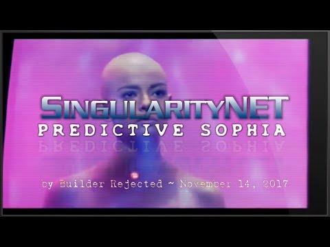 SingularityNET : Predictive Sophia Android : Ilia Star Trek