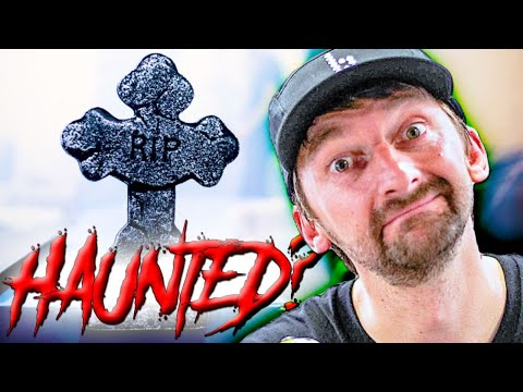 IS OUR PRIVATE SKATEPARK HAUNTED? OVERNIGHT GHOST HUNTERS LIVE STREAM!