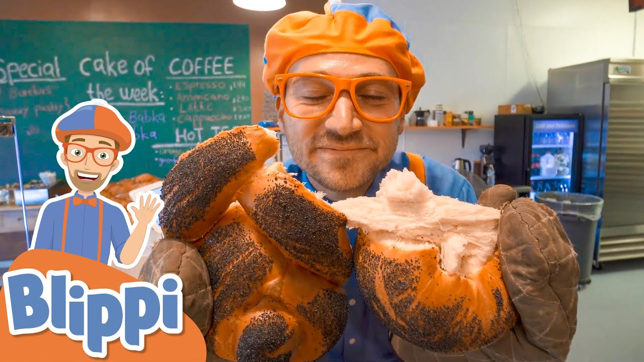 Blippi Visits a Bakery! | Learn to Bake for Kids | Educational Videos for Toddlers