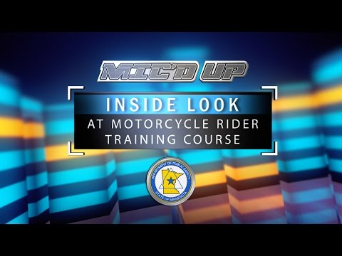 DPS MIC'D UP: Inside Look At Motorcycle Rider Training Course