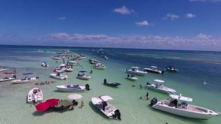 Islamorada SandBar (Florida Keys) DJI Phantom 4 Drone