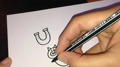Zeichnen für Kinder: Comic Glücksbringer/comic lucky charms
