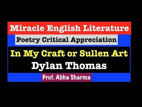 dylan thomas poem in october summary