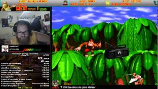 VIKINGSTREAM | DONKEY KONG COUNTRY SPEEDRUN CAFE E ROTAS