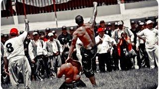 Ali GÜRBÜZ - Mehmet YEŞİL YEŞİL, 652. Kırkpınar Çeyrek Finali Oil Wrestling