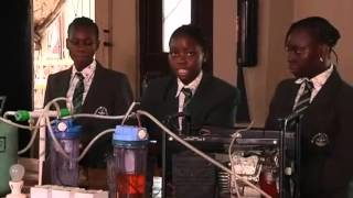 Nigeria Schoolgirl pee power energy generator - uses just pee to generate electricity