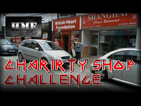 Heavy Metal Charity Shop Challenge