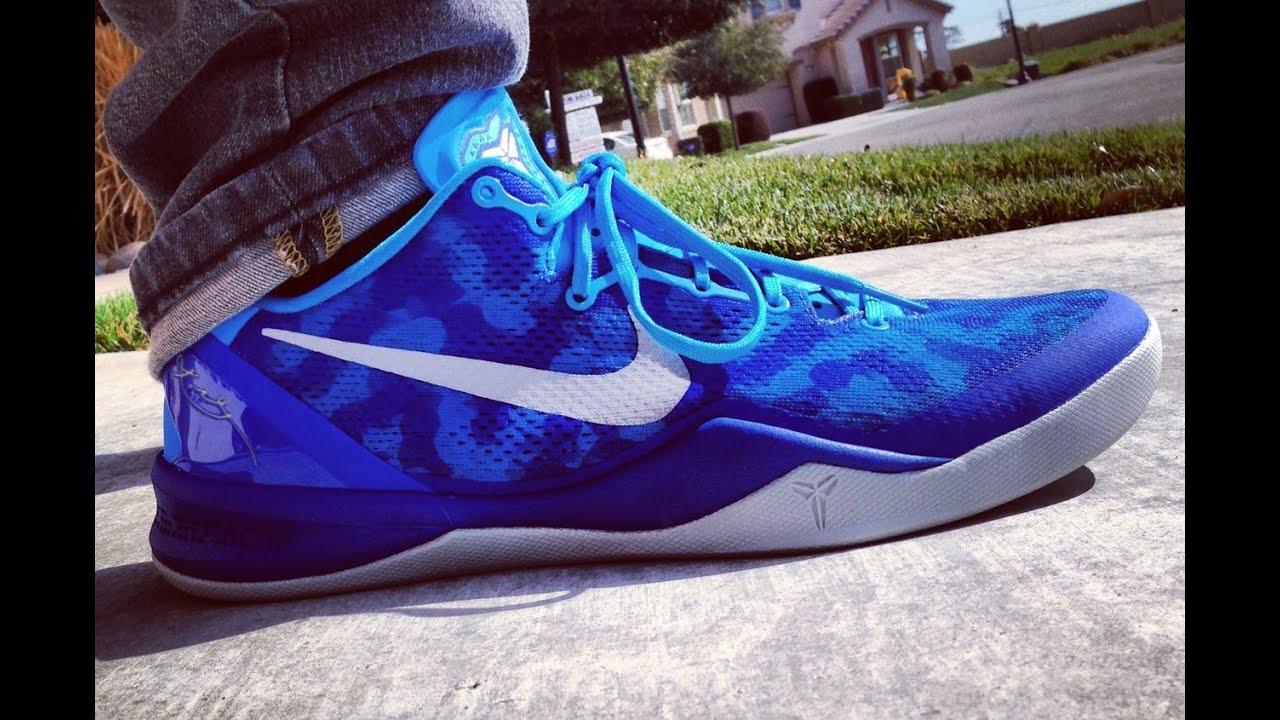 pretty nice ad06d e8183 Nike Kobe 8 System Blue Glow