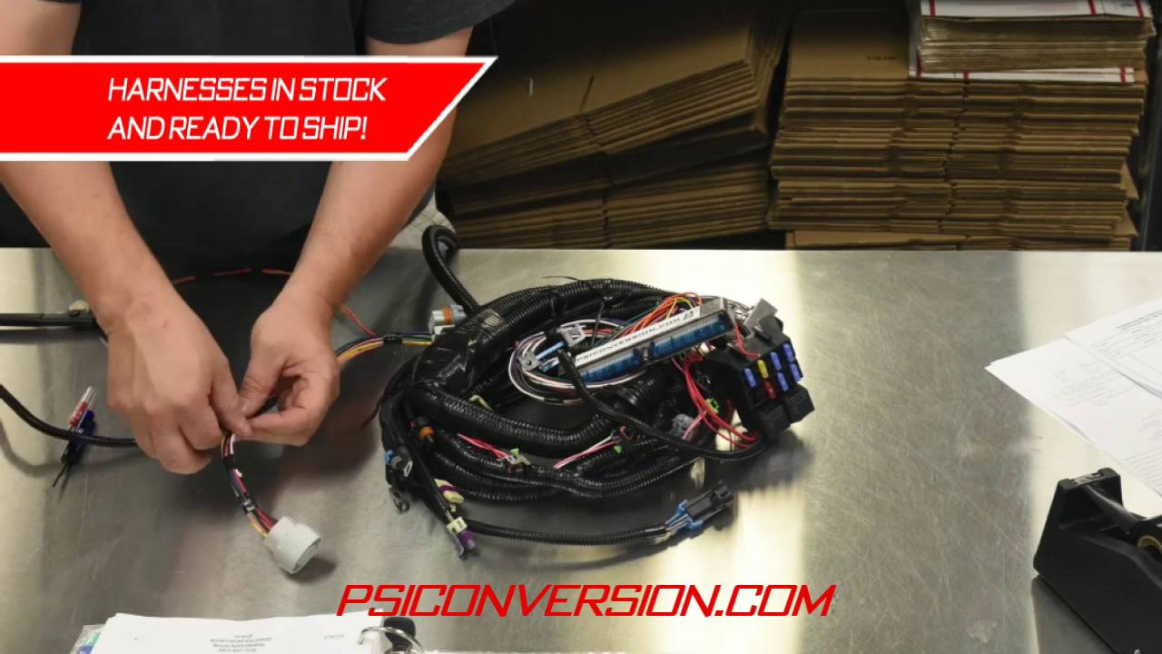 hight resolution of psi standalone wiring harnesses youtube ls1 standalone wiring harness psi standalone wiring harnesses