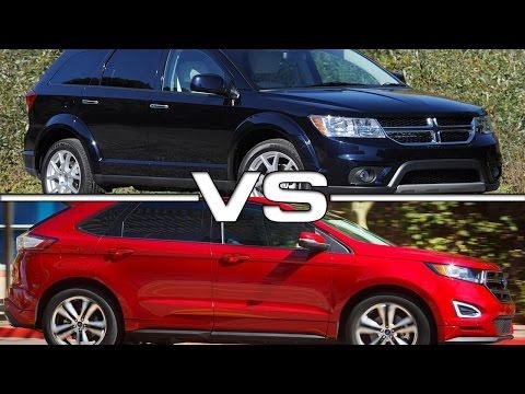 2016 Dodge Journey vs 2016 Ford Edge Sport