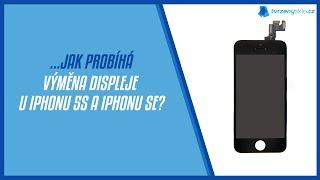 Jak u nás probíhá výměna displeje u iPhonu 5s / SE? - Tvrzenýsklo.cz iPhone Servis Praha