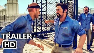 PS4 - A Way Out Final Trailer (2018) Prison, Co-Op Game