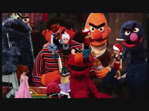 Gangster Elmo. - YouTube  Elmo And Cookie Monster Gangster