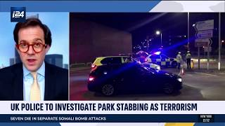 Reading terrorist stabber aimed for necks and armpits of his victims. Jonathan Sacerdoti reports.