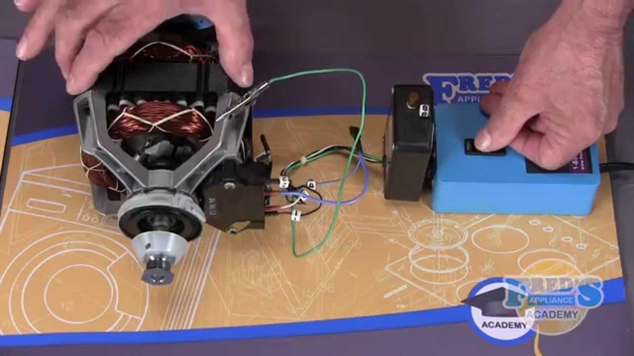 08 - dryer motor tester
