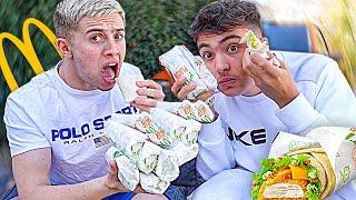 Wrap McDo Challenge avec Inoxtag ! (j'ai failli vomir, on a trop mangé)