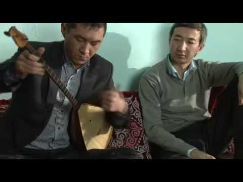 Kazakh traditional art of dombra kuy