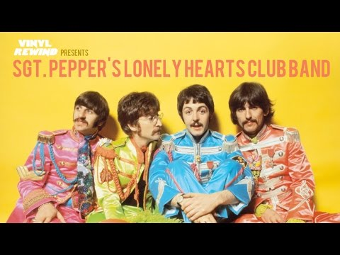 Vinyl Rewind Sgt Pepper S Lonely Hearts Club Band Vinyl