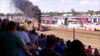 Super Farm Tractors Pull Off at Indianapolis, IN (8/5/12)