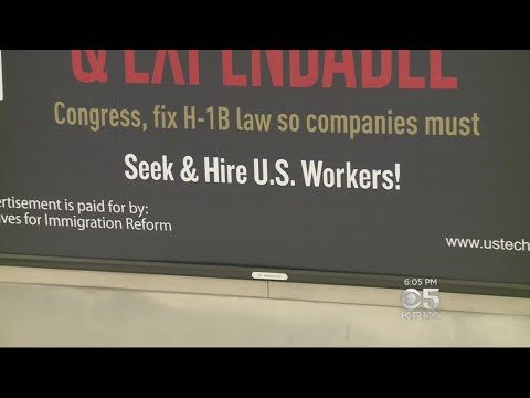 Controversial Ads Call For Changes To H-1B Visa System For Tech Workers