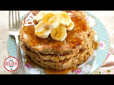 no-flour?-watch-us-make-easy-flourless-pancakes-in-our-pajamas