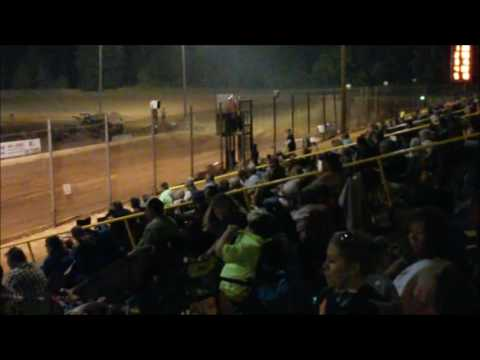 Street Stock Heat Race Faircloth 10 29 16