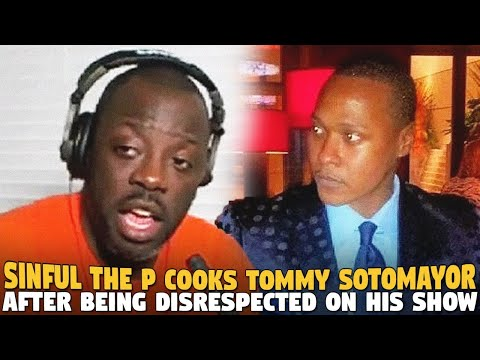 Sinful The P Cooks Tommy Sotomayor After Being Disrespected On His Show...AND GUESS WHO MAD?