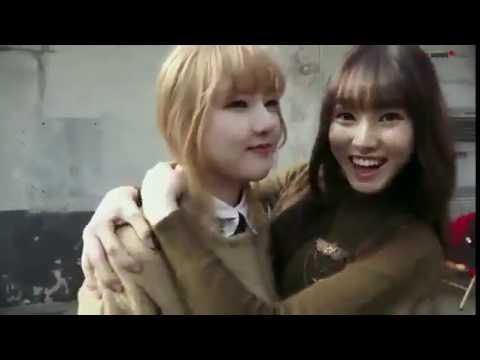 Yerin x Yuju (GFRIEND) - kiss moment