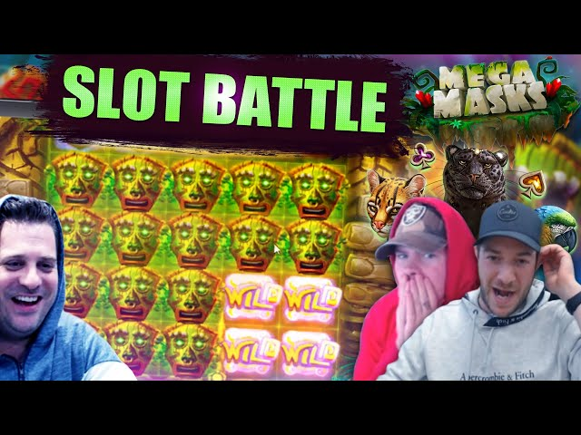 ONLINE SLOTS BATTLE!! Josh vs Jamie vs Scotty!! Wild West Gold, Cubes, Primal and more!!