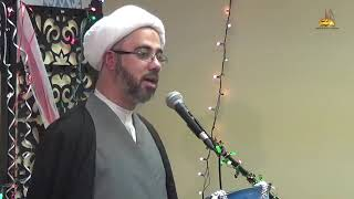 الشيخ مصطفى الموسى - وراثة السيدة زينب لأهل الكساء عليهم أفضل الصلاة والسلام