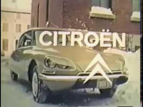 1970 Canada / USA Citroen DS commercial / publicite