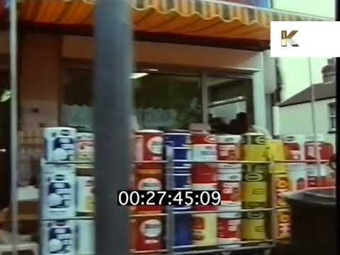 1980s UK High Street, Indian Shops, British Asian, Southall