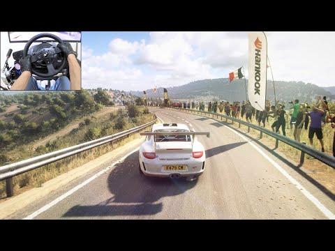 Porsche 911 - Dirt Rally 2.0 | Thrustmaster T300RS gameplay |