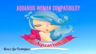 Aquarian Woman Compatibility