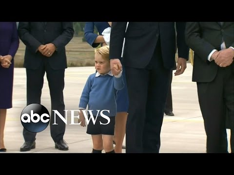 Prince William, Princess Kate and Kids Tour Canada