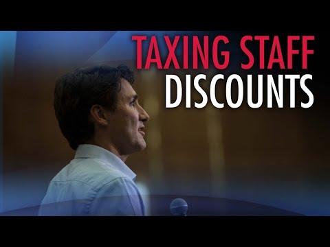 Trudeau's employee discount tax targets working poor