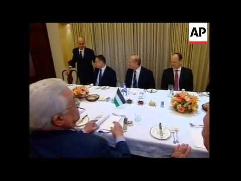 WRAP Palestinian president Abbas meets Israeli PM Olmert, Hamas reax