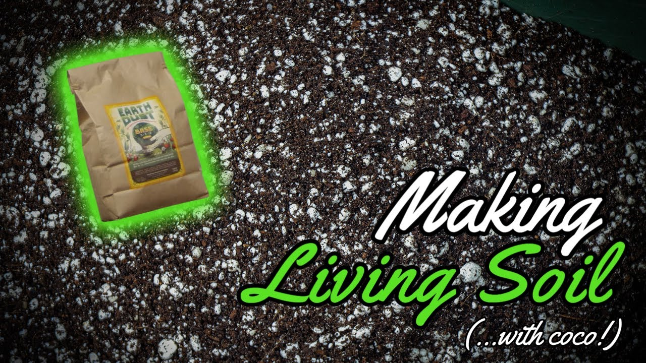 How to Make Living Soil (....with coco!)