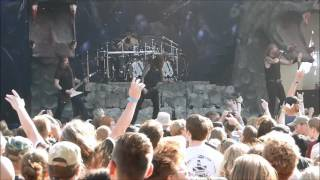 Amon Amarth  - Rise your horns  Live @ Copenhell 2016