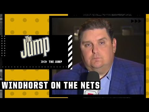 Brian Windhorst reacts to Kyrie, Durant & Harden's Media Day availability  The Jump