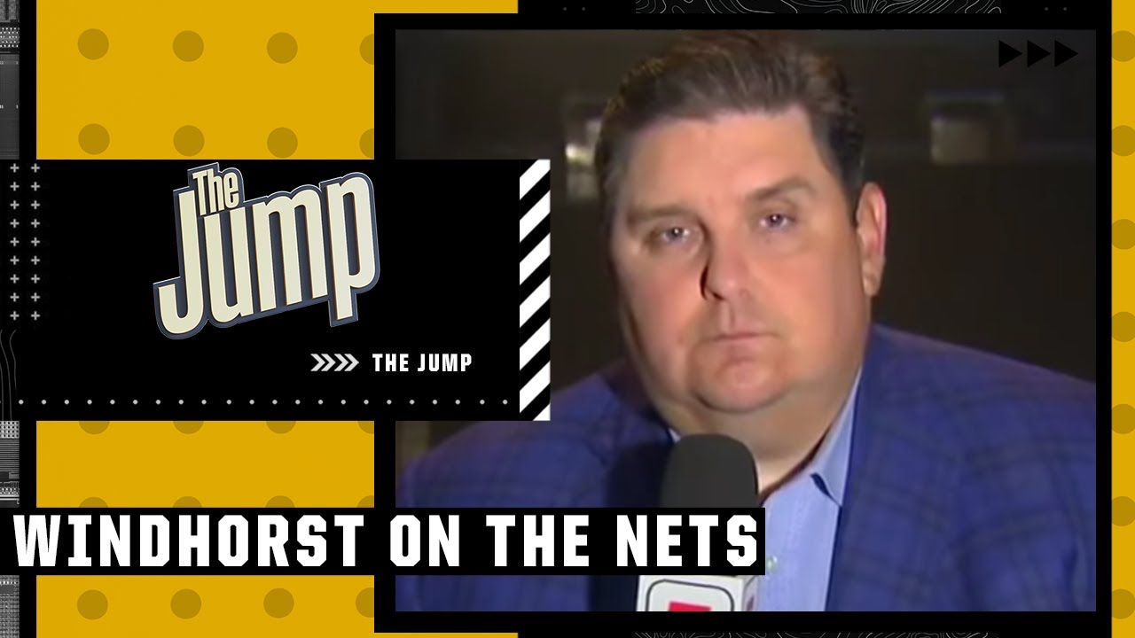 Download Brian Windhorst reacts to Kyrie, Durant & Harden's Media Day availability   The Jump