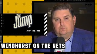 Brian Windhorst reacts to Kyrie, Durant \u0026 Harden's Media Day availability | The Jump