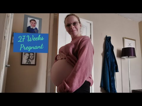 27 WEEKS PREGNANT | SYMPTOMS AND BUMP | UK MUM OF ONE