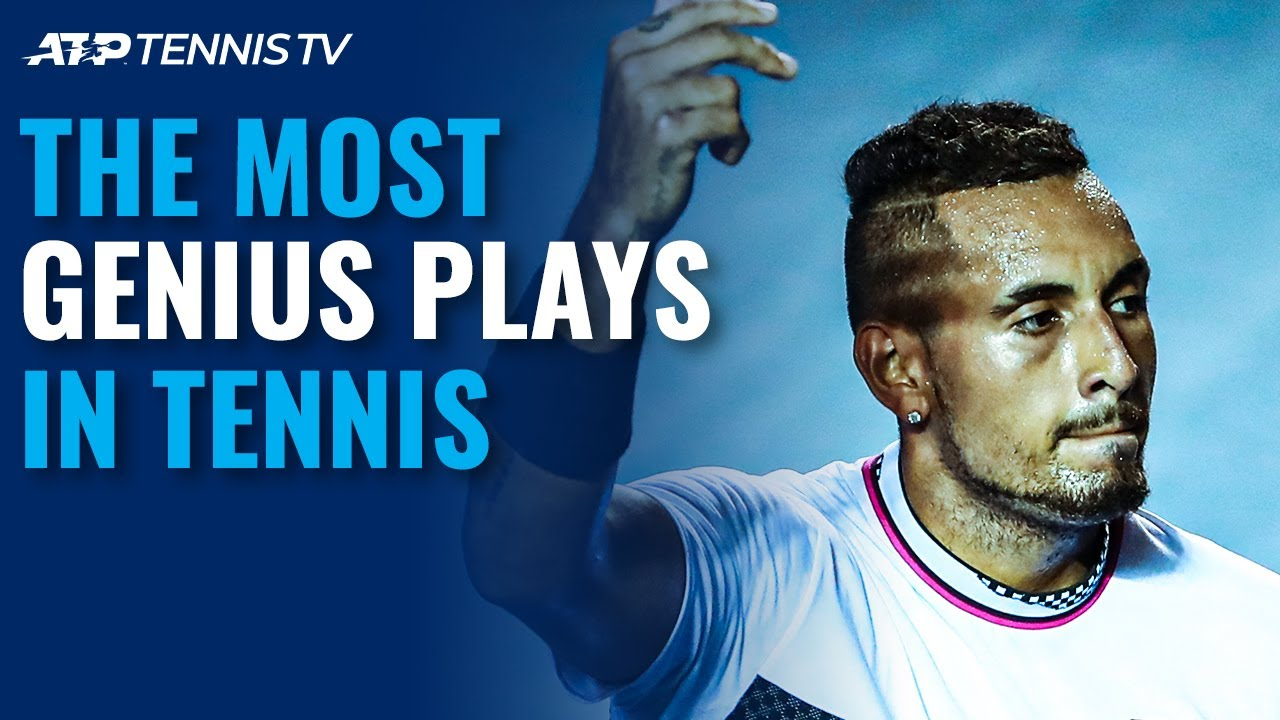 The Most Genius Plays in Tennis!