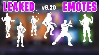 Fortnite *ALL NEW* LEAKED Emotes/Dances - Criss Cross, Wolf, Busy, Jugglin', Tai Chi, Treat Yourself