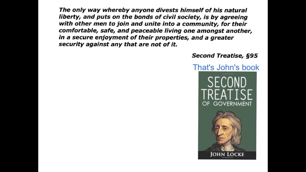 social contract theory of john locke How did thomas hobbes and john locke view the purpose of government what is social control theory related videos thomas hobbes social contract theory.