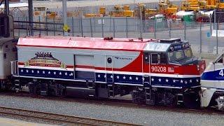 "Amtrak NPCU #90208 ""Cabbage"" - New Veterans Paint Scheme"