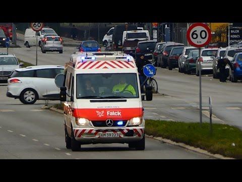 ambulance 3601 falck hvidovre