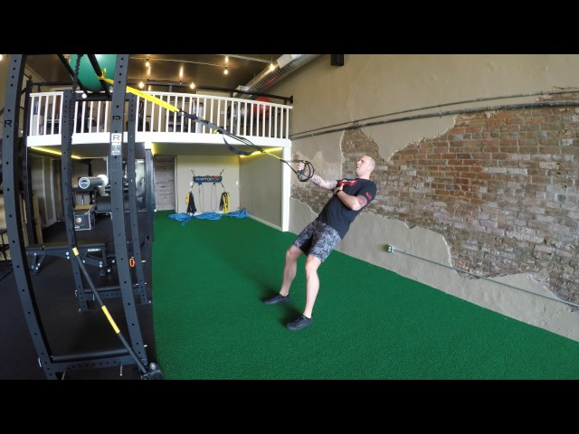 TRX 1 Arm Anti Rotation Row